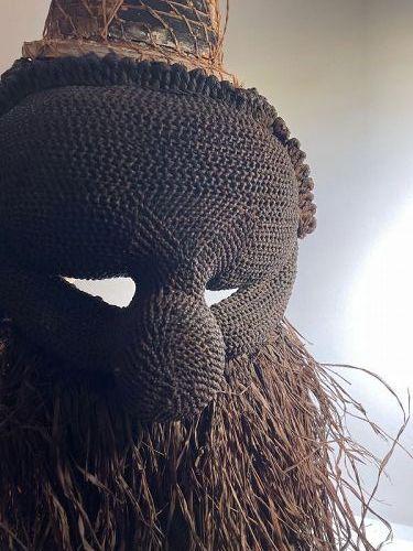 African Salampasu Ceremonial Mask 1950