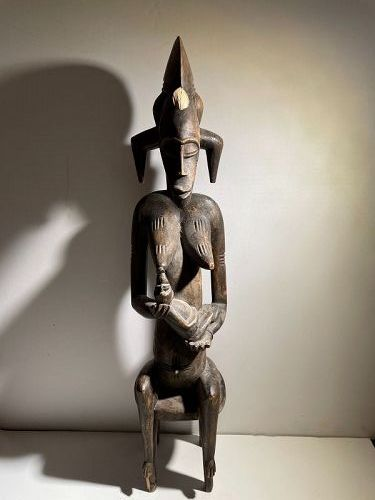 African Ivory Coast Fertility Figure