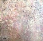 "Robin Sutliff local artist abstract Encaustic 48""x48"""