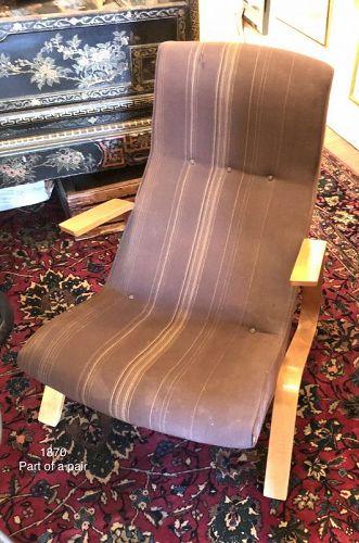 Eero Saarinen Grasshopper chair prototype 1948
