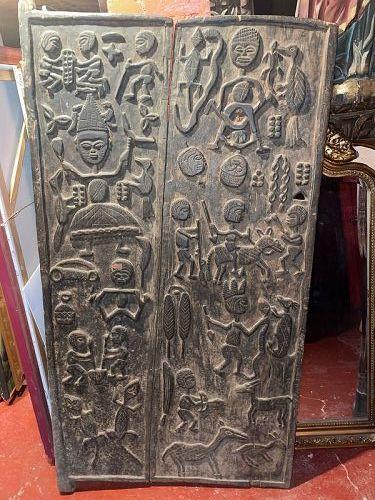 African Yoruba Granary Door