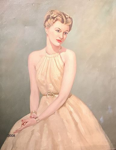 "California Portrait Artist Bradford Lambert 40x30"""