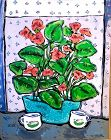 """Anne Lane American Artist Important Floral Still Life in oil 30x24"""""""