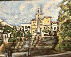 Master Artist Anne Lane �Old San Juan� oil 36x48�