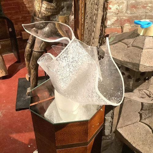 """Washington,DC Artist Caroline Baker, Abstract  Lucite Sculpture 18x12"""""""