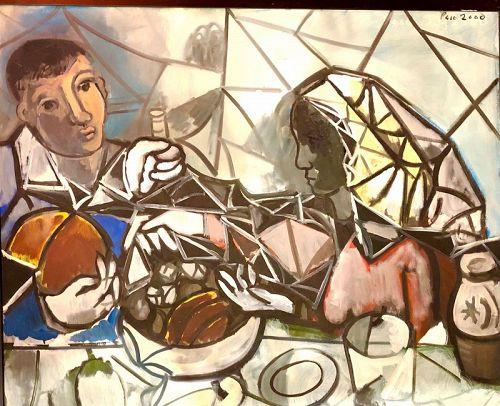 Cubist Masterwork  by DC Artist Paco Lane