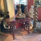 Chinese Late Qing Dynasty Altar Table Faux Tortoise finish