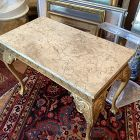 Gilt English Chippendale Center Or Mixing Table