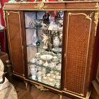 French Louis XVI revival Francois Linke 3 door Display Cabinet