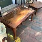 Chinese Late Republic Kang Rosewood  Low Table