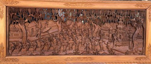 Balinese Masterpiece sculpture in Wood