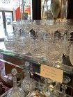 """Irish Waterford Crystal Scotch Large Tumblers """"Castletown""""  set of 8"""