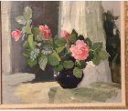 Sofia Vanya Khrustalyova Russian Artist Floral Still Life 12x18