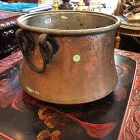 """Antique Copper Kettle/Pot 15""""x13"""""""