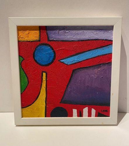 "Anne Lane American Artist  11x11"""