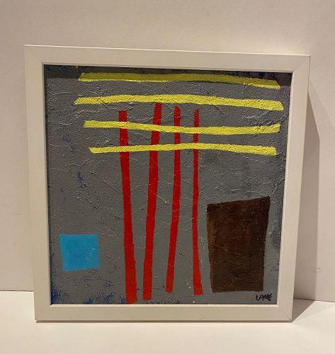 """Anne Lane American Artist 13x13"""" Framed"""