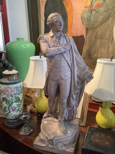 """Frédéric-Auguste Bartholdi French Artist 1834–1904 """"Lafayette Maquette"""