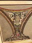 "French Ornamental Design Engraving FromThe 18th Century 16x14"" framed"
