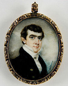 Henry Williams Portrait Miniature c1825