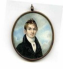 Superb Signed Wlliam Doyle Miniature Painting  c1822