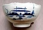 Rare Pennington's Liverpool Porcelain Bowl  c1770