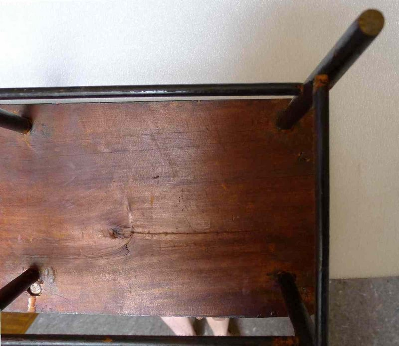 American Antique Child or Doll's Bench c1820