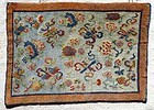 Fine Tibetan Prayer Mat 19th c