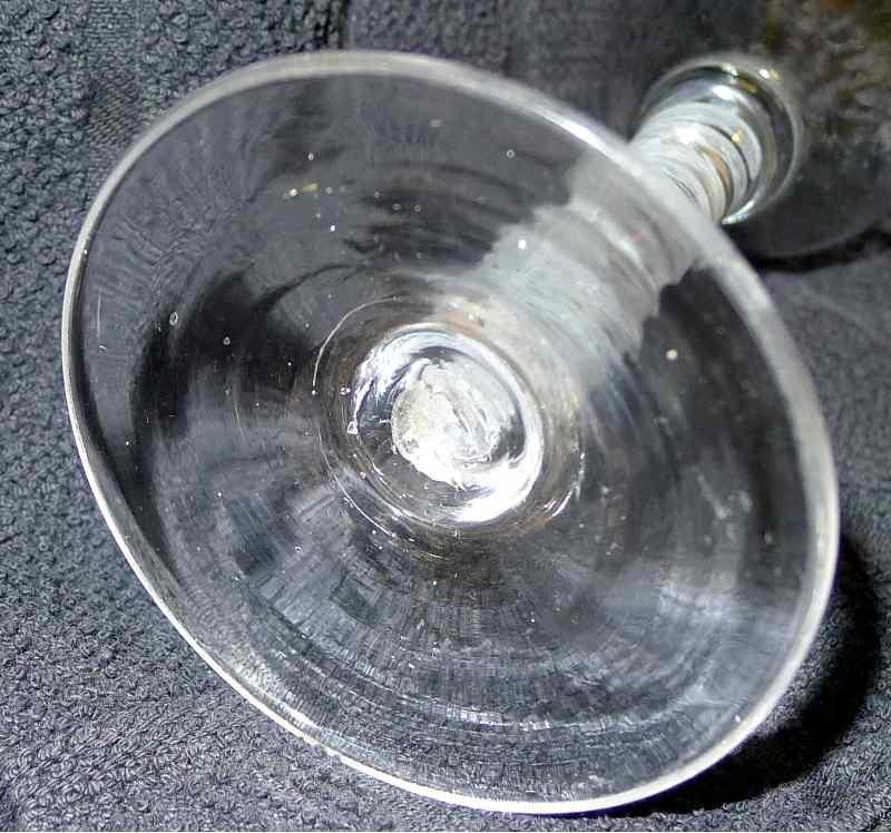 SSOT Georgian Wine Glass  c1760