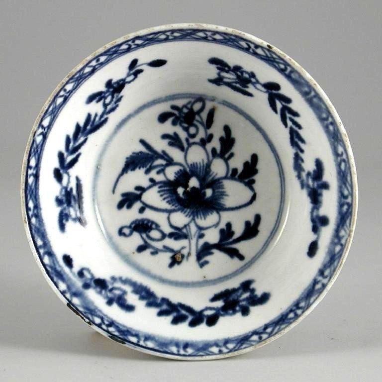 Bow Porcelain Patty Pan  c1765