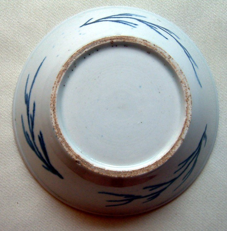 Bow Porcelain Patty Pan  c1765