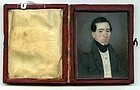 American Miniature Portrait Painting c1835