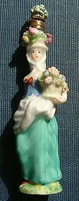 Rare Chelsea Porcelain Scent Bottle Toy c1760