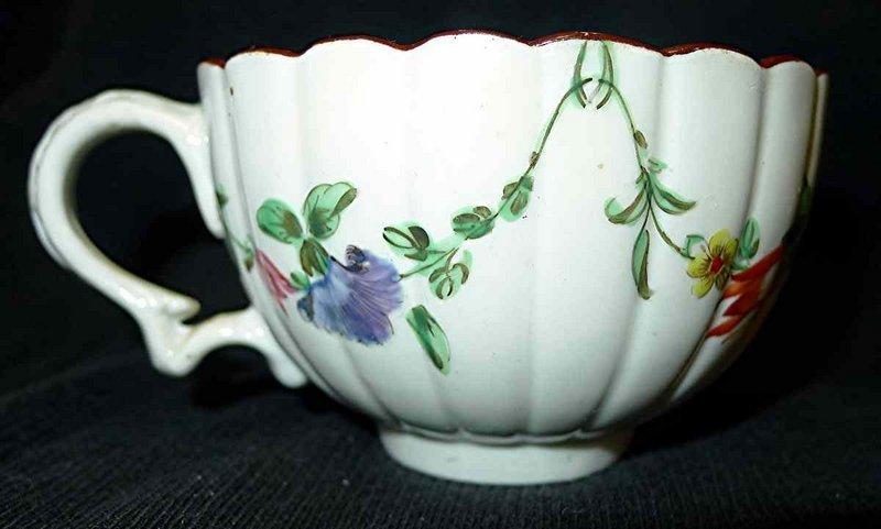 Bristol Porcelain Coffee Cup c1770