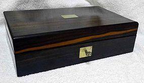 Fine Coromandel Game Box c1850