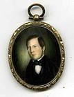 Christopher Greiner Miniature Portrait c1845