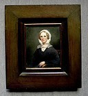 Miniature Portrait by Otto Merkel 19th c