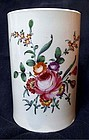Large Chaffers Liverpool Porcelain Tankard c1765