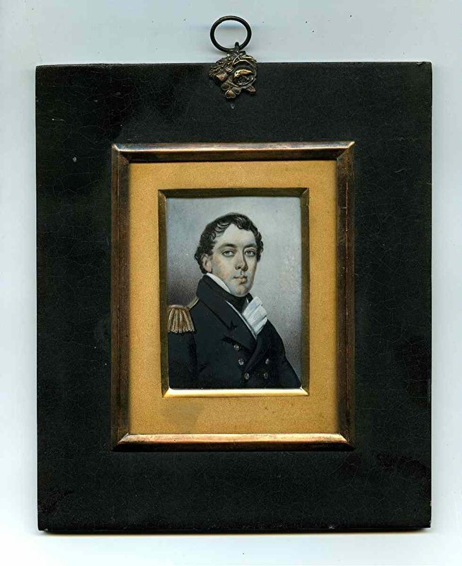Andrew Plimer Miniature Painting c1815