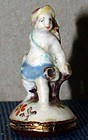 Chelsea Porcelain Toy Seal c1755