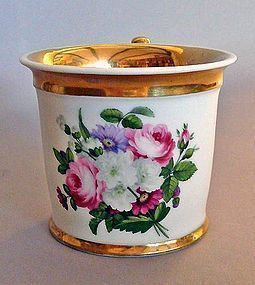 Gorgeous Chamberlain's Worcester Coffee Can c1820
