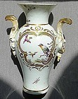 Early Patch Mark Derby Porcelain Vase c1756-1758