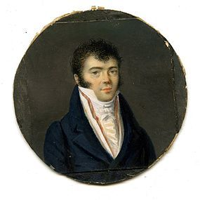 Miniature Portrait by Legenvre  c1813