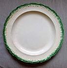 Leeds Feather Edge Type Plate c1825