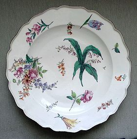 Superb Antique Chelsea Porcelain Charger c1755