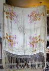 Beautiful French Lame Shawl c1920