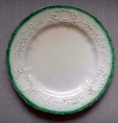 Leeds Feather Edge Type Plate c1820