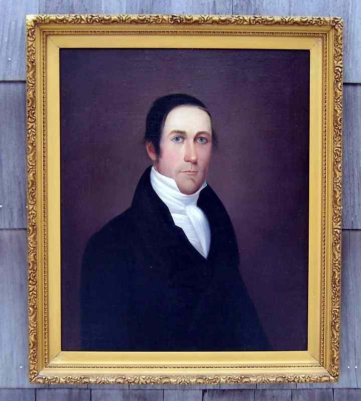 A Good Pair of American Portraits c1812