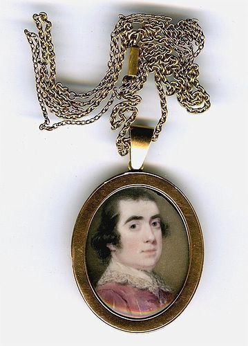 Ozias Humphry Portrait Miniature c1765 - 1770