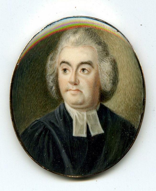 Miniature Portrait by George Place c1795