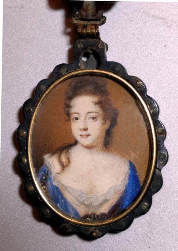 Susan Penelope Rosse Miniature Painting c1690